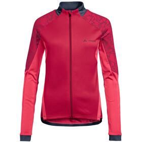 VAUDE Resca II Koszulka rowerowa Kobiety, cranberry uni